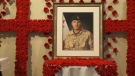 Stunning tribute to fallen soldier near Hawkesbury