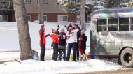 Calgary Stampeders, fans, tailgate, west semifinal