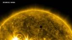 Mercury's 5-hour journey across the sun