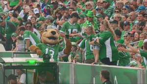 gainer high fives