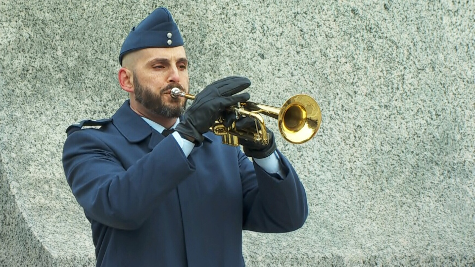 The Last Post played at Remembrance Day ceremonies