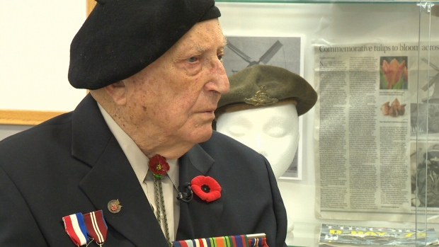 Len Van Roon is a veteran of the Second World War and D-Day.