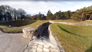Through Google Streetview, Canadians can take a virtual tour of the trenches at Vimy Ridge. (Google)