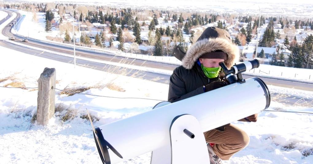 Calgary astronomer Mercury transit