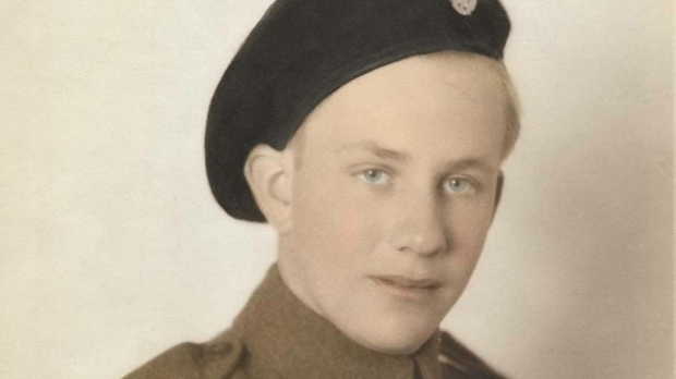 "Grant F R MacDonald says, ""This is my grandfather Fred H MacDonald in 1941 in France."" (Grant F R MacDonald / Facebook)"