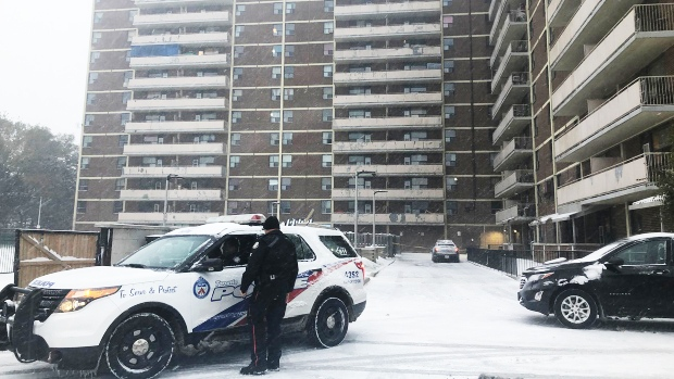 Two-year-old girl struck by falling air conditioner in Scarborough has died in hospital