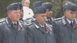 CFB Borden Remembrance Day services on Nov. 11, 2019 (Roger Klein/CTV News)
