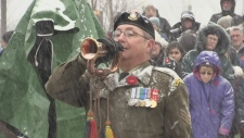 Barrie Remembrance Day services