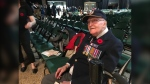 101-year-old veteran Ralph Wild served during the Second World War. (Jon Hendricks/CTV News Winnipeg)