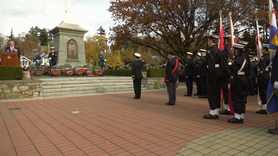 esquimalt remembrance day