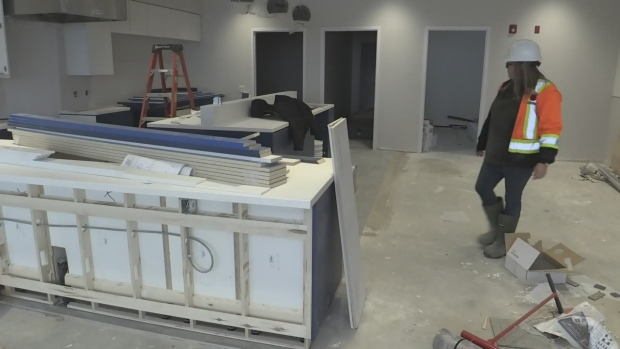 Orillia new women's shelter preps to open - CTV News