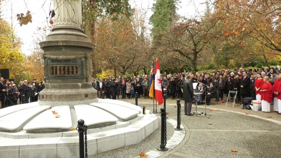 Japanese Canadian War Memorial