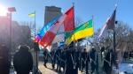 Remembrance Day in Regina. (Marc Smith / CTV News Regina)