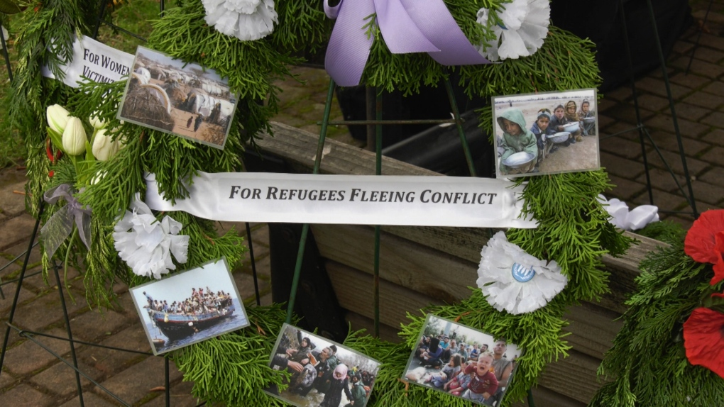 Remembrance Day ceremony honours civilian victims of war