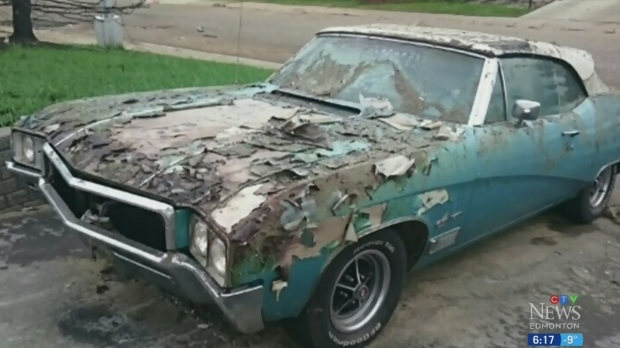 '68 Buick Skylark a phoenix from Fort Mac ashes