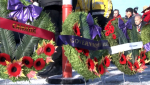 Large crowds turned out to honour the service of Canada's fallen soldiers Monday. Alesia Fieldberg reports