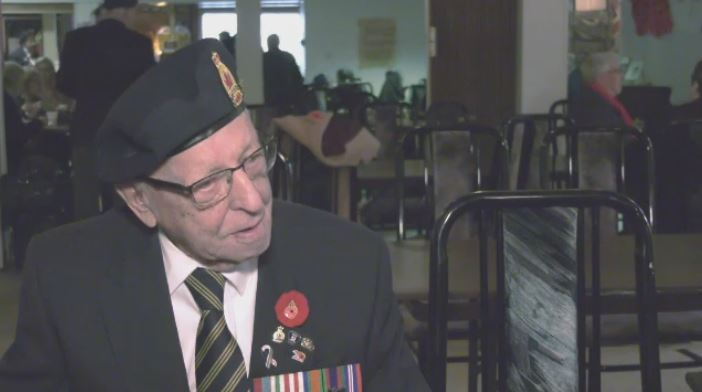 Garnet Bourgaize, 100-year-old war veteran, has died