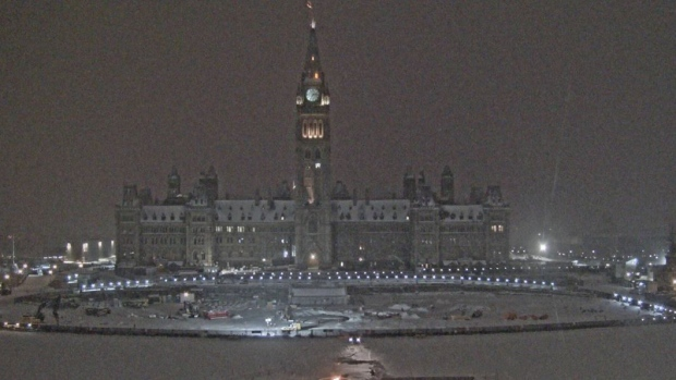 A record 9.4 cm of snow fell on Ottawa on November 11