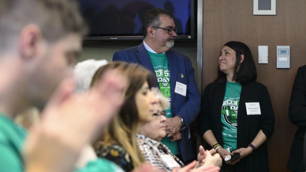 Green Shirt Day organ donation