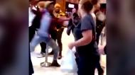 Man punches woman at Nashville Popeyes