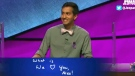 'Jeopardy!' contestant writes heartfelt message