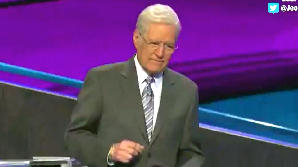 Alex Trebek on 'Jeopardy!'