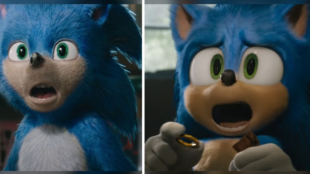 Sonic side-by-side comparison
