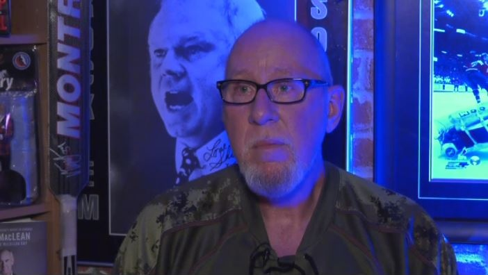 'That Don Cherry Guy' Don Cherry impersonator Clark Robertson says he doesn't expect to lose work and is defending the former 'Coach's Corner' star who's out of a job after ranting about wearing poppies, saying 'he's not a wordsmith.' (CTV Calgary)