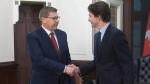 PM Trudeau meets with Sask. Premier Scott Moe