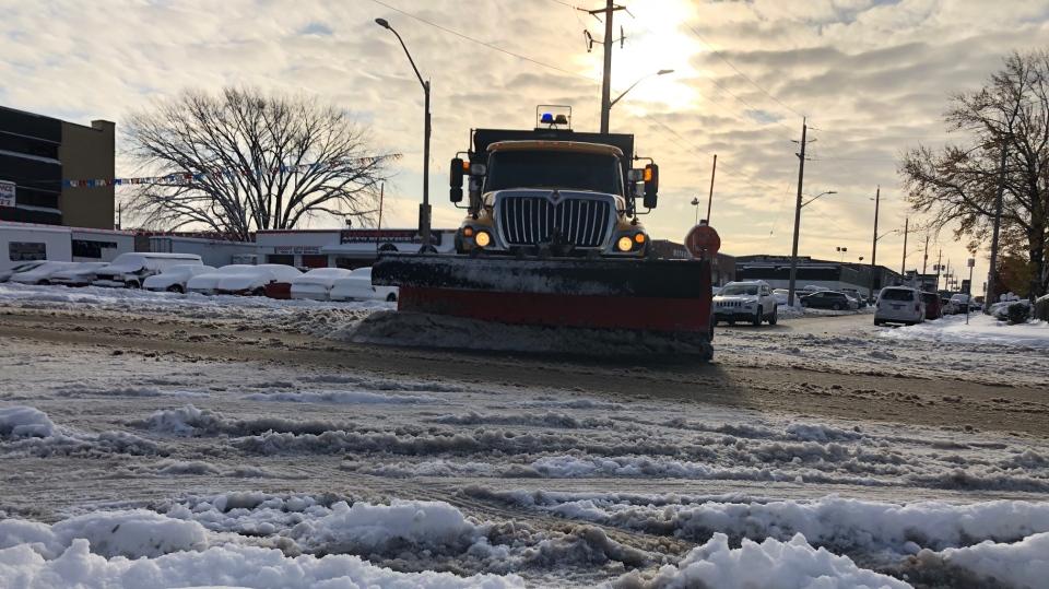 Windsor snow plow