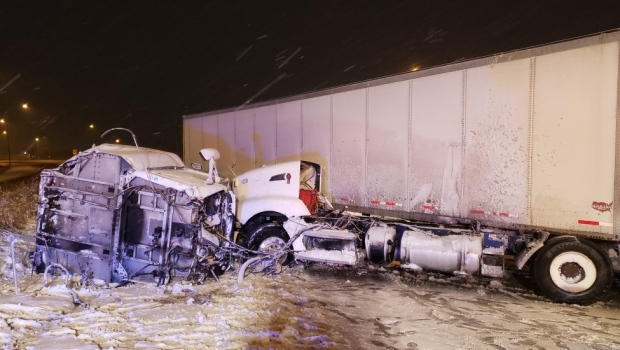 Essex County OPP respond to over 20 crashes during snowstorm - CTV News Windsor