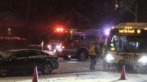 Police dealing with hundreds of crashes