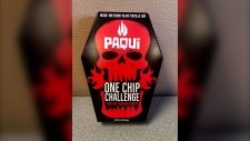 Made by Paqui, the One Chip Challenge involves a Carolina Reaper chip that comes in at 1.9 million scoville units.