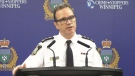 Winnipeg Police Service Chief Danny Smyth speaks to media on Tuesday, Nov. 12, 2019.