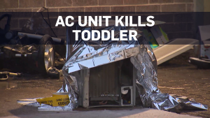 AC unit toddler death