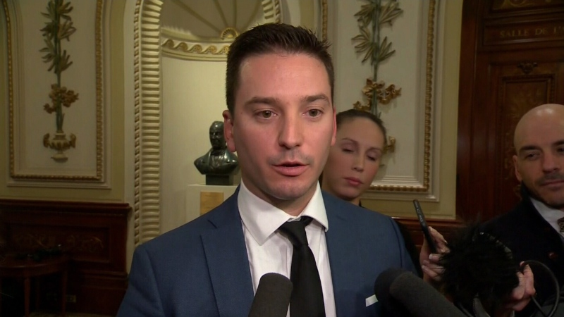 Immigration Minister Simon Jolin-Barrette