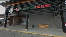 According to Alberta Health Services, Happy Lamb Hot Pot in Pacific Place Mall in northeast Calgary has been closed because of a variety of health code violations. (Supplied/Google Maps)