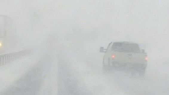 White-out conditions, Nov. 12, 2019 (CTV Barrie News)