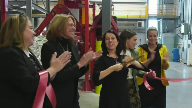 New recycling plant opens in Lachine - CTV News