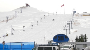 Winsport is no longer scheduled to host a ski, freeski, and snowboard world championship, which was slated to start late Feb.
