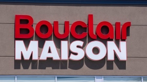 A Bouclair sign is seen on a store front in Montreal on Tuesday, June 18, 2019. THE CANADIAN PRESS/Paul Chiasson