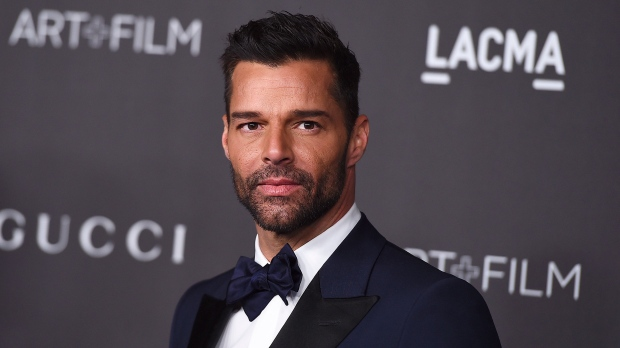 This Nov. 2, 2019 file photo shows Ricky Martin at the 2019 LACMA Art and Film Gala in Los Angeles.  (Photo by Jordan Strauss/Invision/AP, File)