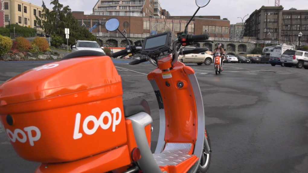 Loopshare scooter