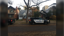 Edmonton police responded to an Airbnb in Garneau after a woman was stabbed on Oct. 15, 2019. (Garneau residents)