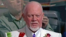 Don Cherry gives on-camera interview