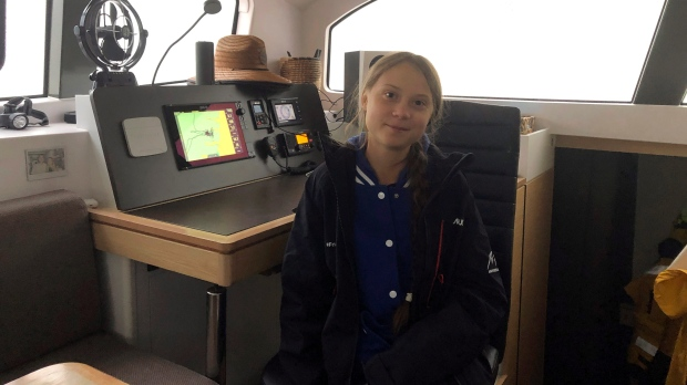 Greta Thunberg to set sail for Spain