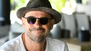 Guy Laliberte, founder of the Cirque du Soleil and owner of the private island of Nukutepipi. (AFP)