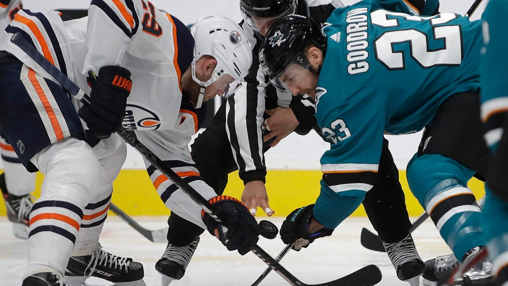 'We didn't compete hard': Oilers lose to Sharks 6-3