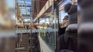 LRT Riders pack the platform at Blair Station Nov. 13, 2019 (Photo courtesy of Megan MacDonald / Twitter)