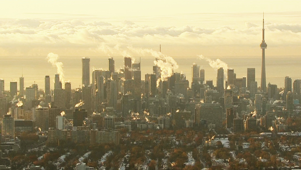 Toronto wakes up to temperatures feeling like -20 C
